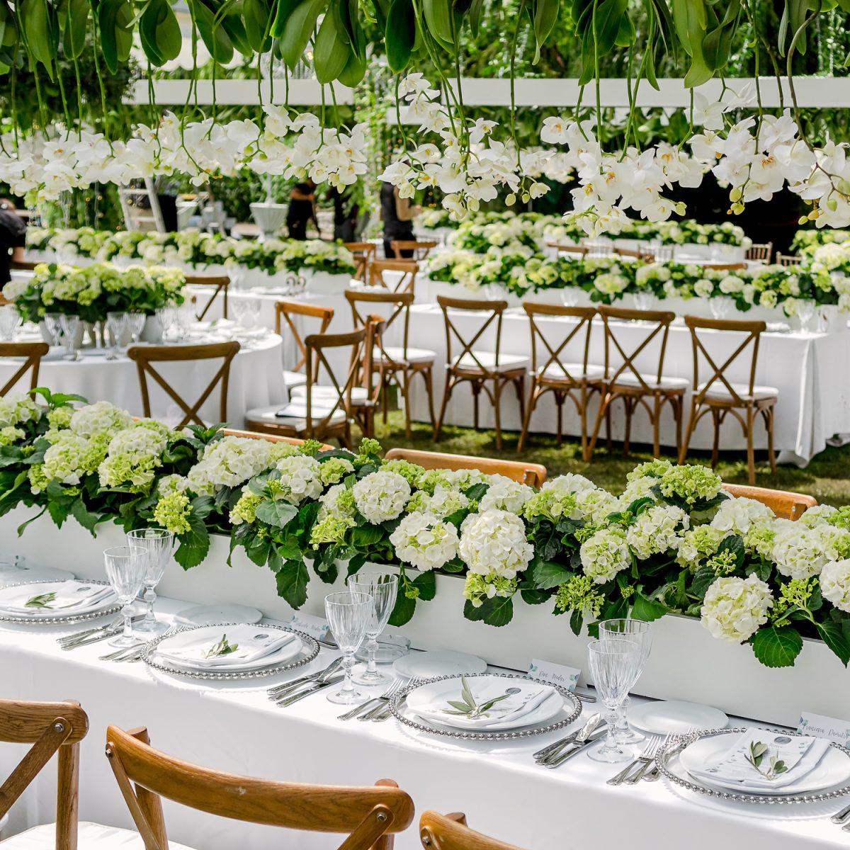decor floral locatie nunta dadoo