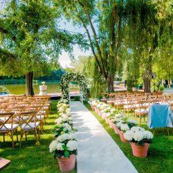 maison dadoo nunta stil italian cort transparent