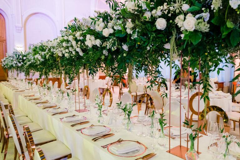 maison dadoo nunta palatul snagov decor floral