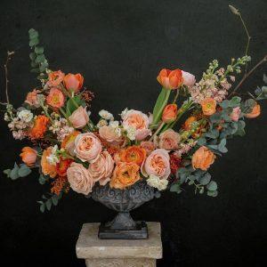 Aranjament floral Orange Dreams