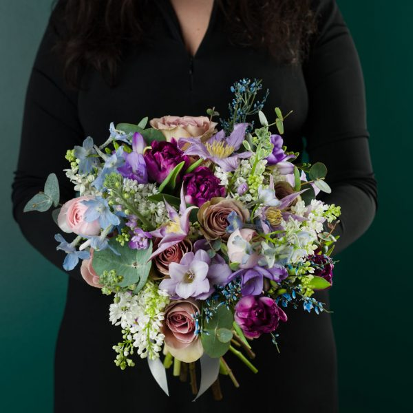 Buchet floral forget me not
